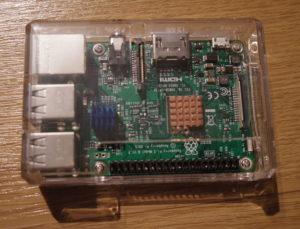Rapsberry Pi3完成