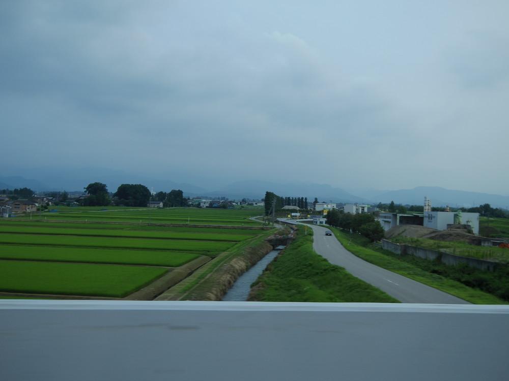 富山の北アルプス