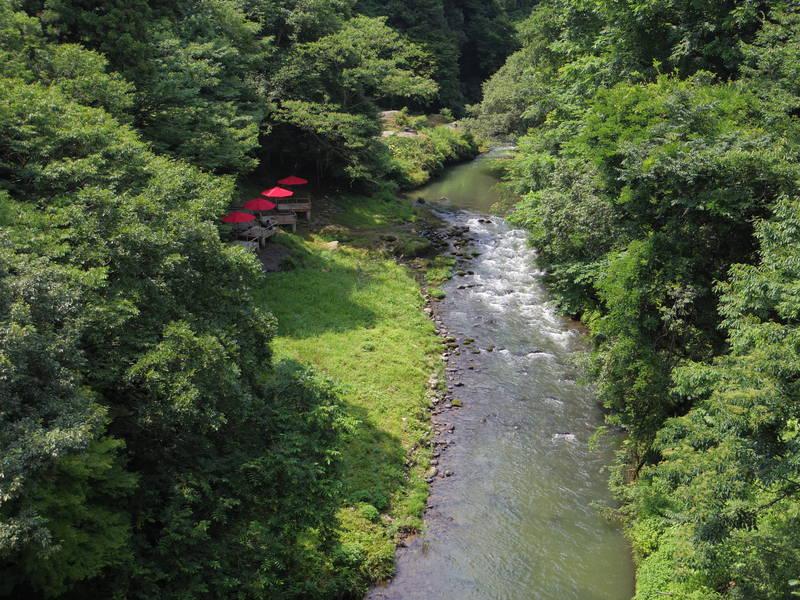 あやとり橋からの光景