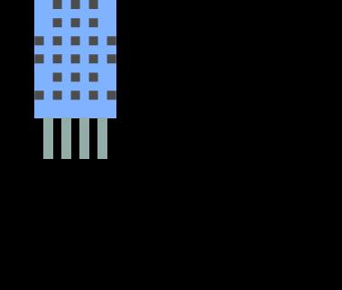 DHT11の配線方法