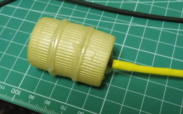 センサーの完成写真。