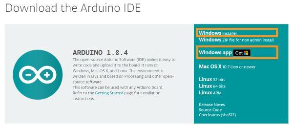 arduino ideのインストール