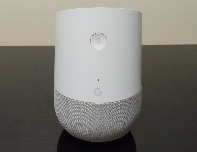 Google Homeの背面