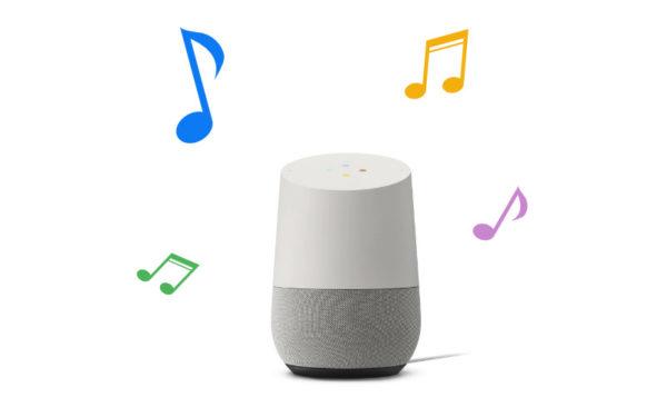 Google Homeの音の調整する