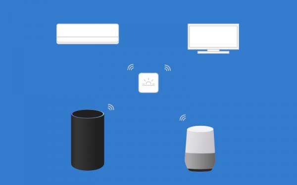 Nature RemoでGoogle HomeとAmazon Echoを連携