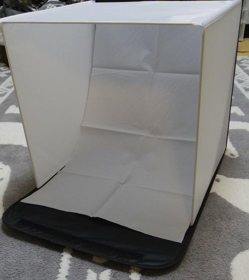 撮影ボックスの完成