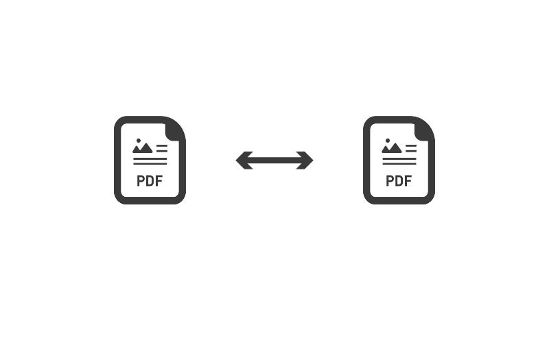 PDF文書の差分を比較する