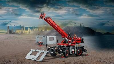 レゴ (LEGO) テクニック全地形対応型クレーン 42082