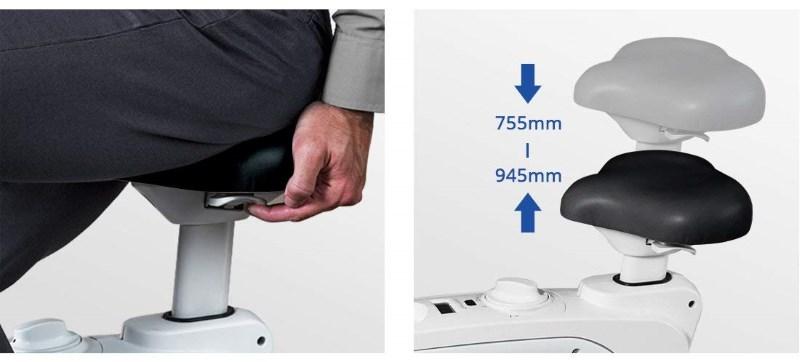 FlexiSpotの机の位置を変更
