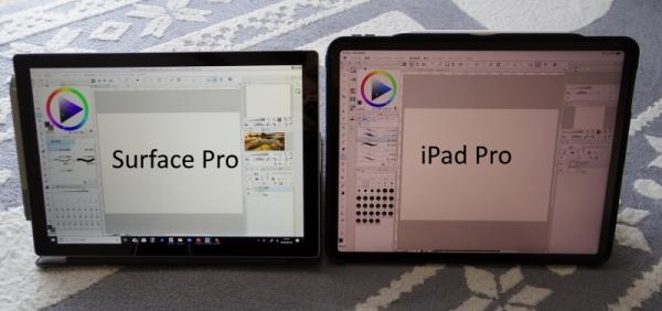 画面サイズの比較