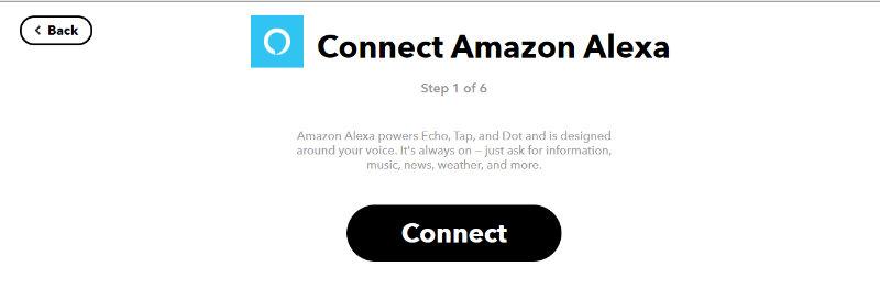 Amazonのサービスとコネクトする