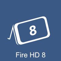 Amazon Fire HD8のレビュー